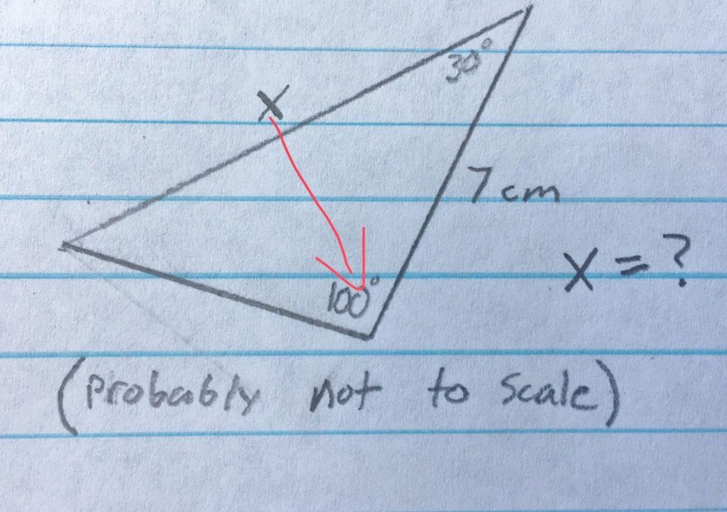 Triangle Solver TI-84 Program - Math Class Calculator