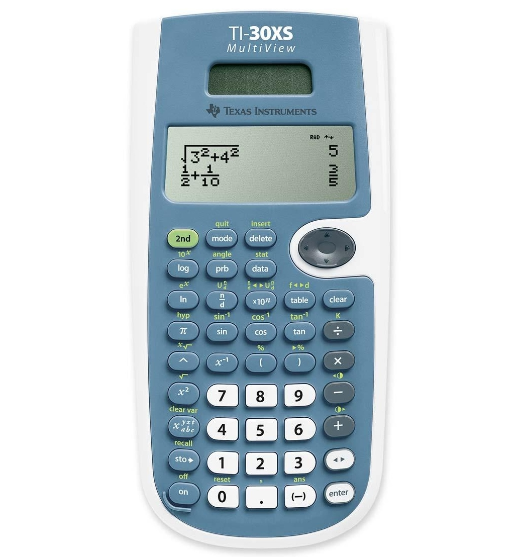 How Much Is Ti Worth >> TI-30XS MultiView Full Review - Math Class Calculator