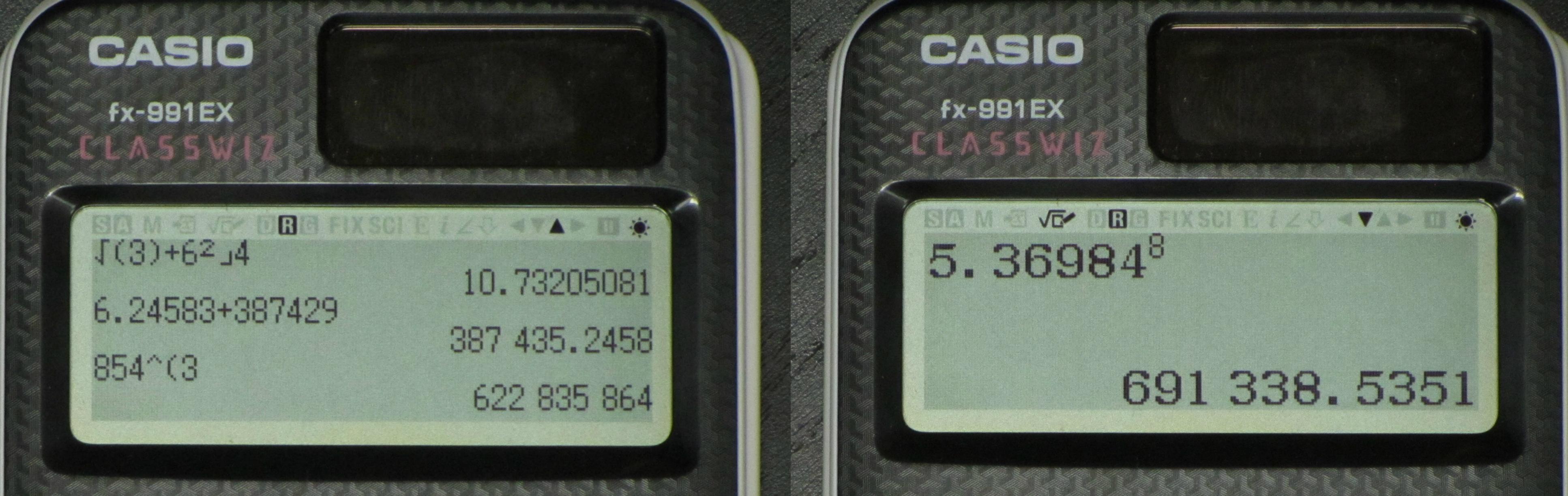 Casio ClassWiz fx-991EX Full Review - Math Class Calculator