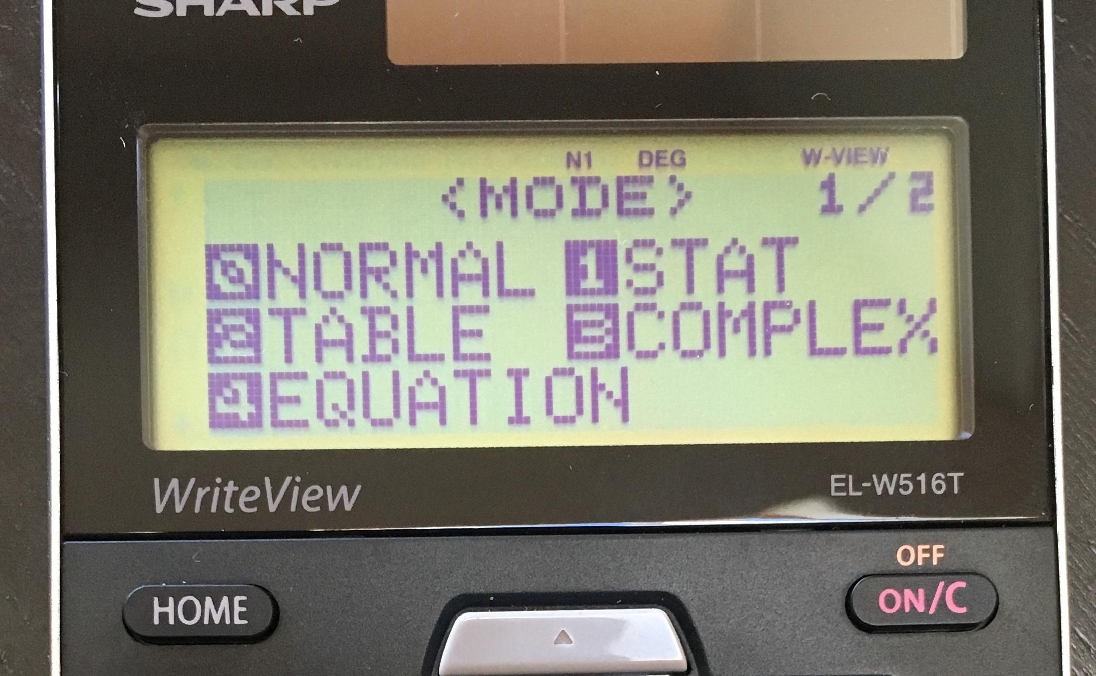 Sharp EL-W516TBSL Full Review - Math Class Calculator