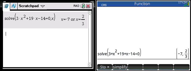 TI-nspire CX CAS vs  HP Prime v2 - Math Class Calculator