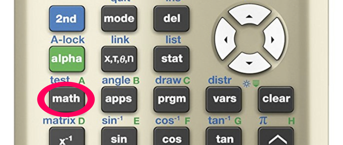 How to change the log base - TI-84 Plus - Math Class Calculator