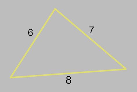 Heron's Formula TI-84 Program - Math Class Calculator